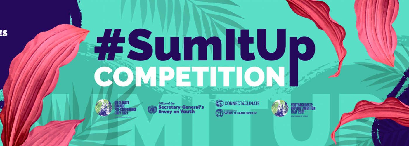 sumitup, sum, it, up, competition, youth4climate